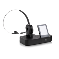 Jabra PRO 9460 Flex Mono Wireless DECT Headset  inklusive Basisstation mit Touchdisplay