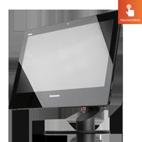 Lenovo ThinkCentre E93z AIO Touch mit Webcam Standfuss Ultraflex