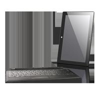 Microsoft Surface Pro mit Tastaturdock schwarz deutsch