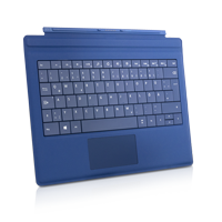 Microsoft Surface Pro Type Cover 3 RF2-00010 deutsch blau