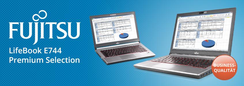 Das gebrauchte Lifebook E744 aus der Premium-Selection von Fujitsu