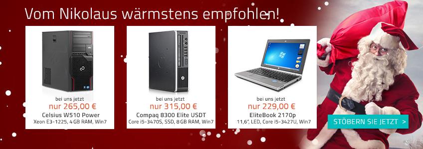 Bald kommt der Nikolaus – Geschenkideen bei Harlander.com
