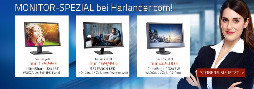 Monitor-Spezial bei Harlander.com