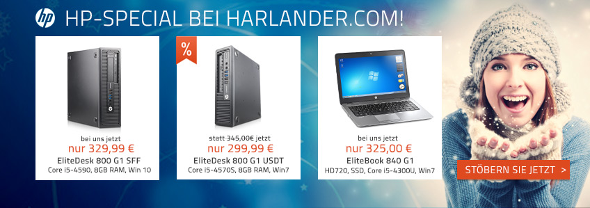 HP-SPECIAL bei Harlander