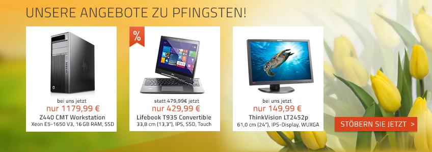 Schöne Pfingsten - mit unseren neuen Angeboten!