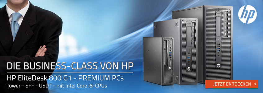 HP EliteDesk 800 G1 PCs zu Top-Preisen