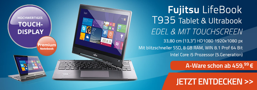 Fujitsu Lifebook T935 gebraucht kaufen