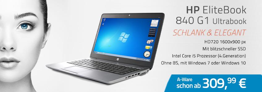 HP EliteBook 840 G1 Notebook gebraucht kaufen!