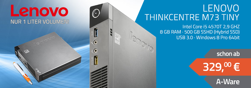 Lenovo ThinkCentre M73 Tiny Mini PC   gebraucht