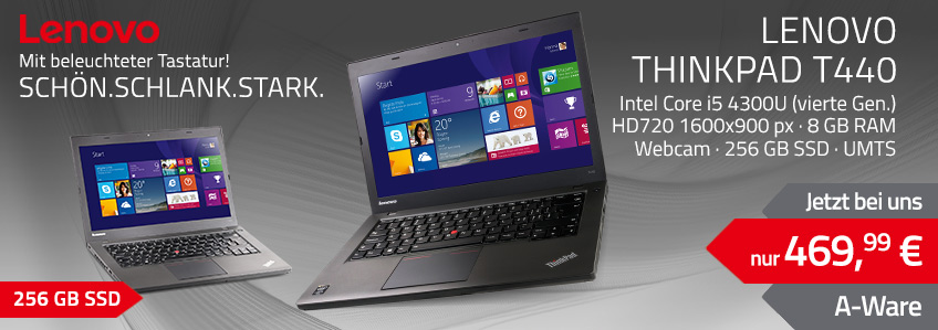 Lenovo ThinkPad T440 Notebook gebraucht