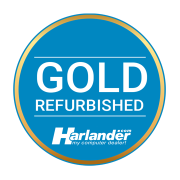 Harlander.com Gold Refurbished Logo