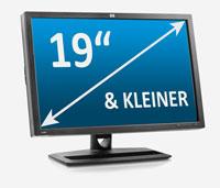 """49 cm (19"""") & kleiner"""