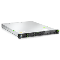 Fujitsu Primergy RX100 S8 Server sechs Laufwerke ohne DVD