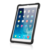 Apple Ipad Air A1474 silber mit Schutzhuelle