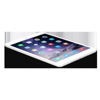 Apple iPad Mini 2 A1490 silber weiss
