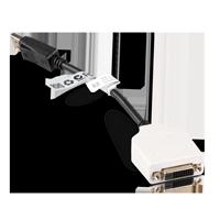 Dell 023NVR DisplayPort auf DVI-D Adapter schwarz weiss