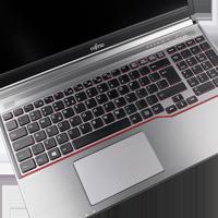 Fujitsu Lifebook E756 ohne Webcam ohne Fingerprint mit Akku unbekannte Tastatur
