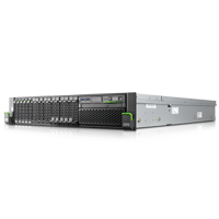Fujitsu Primergy RX2540 M1 Server 5 mal Massenspeicher mit dvd