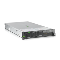 Fujitsu Primergy RX2540 M2 5 mal 2.5 Zoll Festplatte ohne optisches Laufwerk