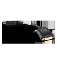 HP 481409-001 DisplayPort auf DVI-D Adapter schwarz