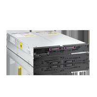 HP ProLiant BL680c G7 Blade-Server mit zweimal Massenspeicher