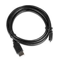 InLine Micro USB 2.0 auf USB 2.0 Kabel schwarz