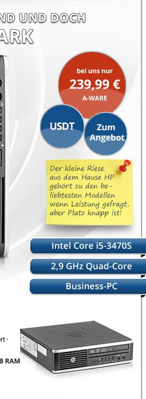 Bild von HP Compaq 8300 Elite USDT