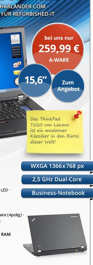 Bild von Lenovo ThinkPad T520