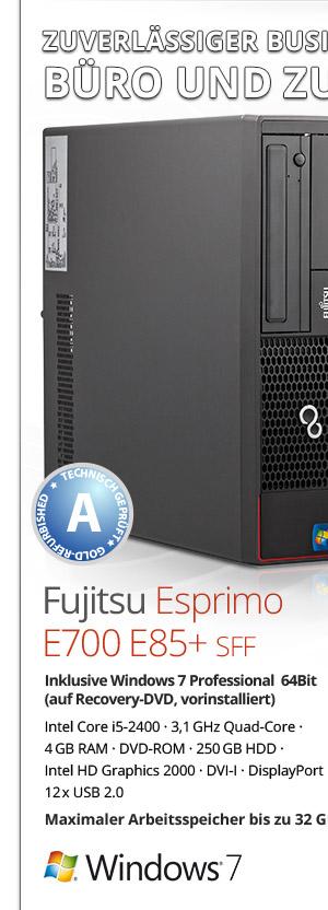 Bild von Fujitsu Esprimo E700 E85+ SFF
