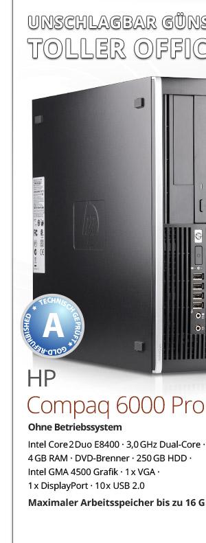 HP Compaq 6000 Pro SFF Bild-1