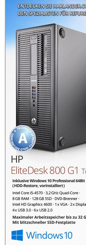 HP EliteDesk 800 G1 Tower PC kaufen Bild-1