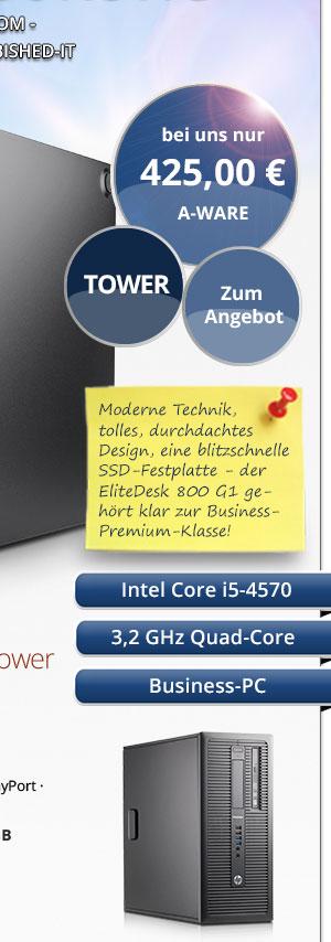 HP EliteDesk 800 G1 Tower PC kaufen Bild-2