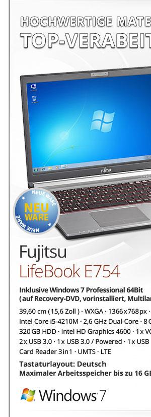Fujitsu Lifebook E754 Notebook kaufen Bild-1