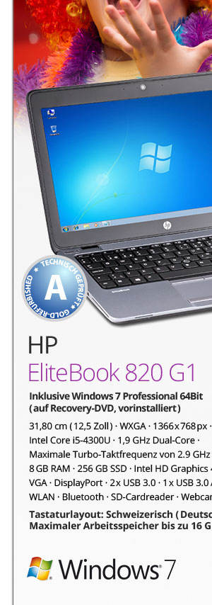 HP EliteBook 820 G1 Bild1