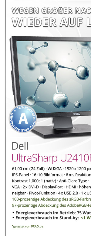 Dell UltraSharp U2410F Bild1