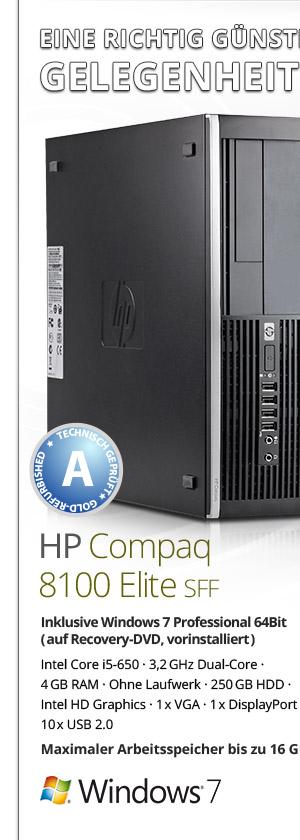 HP Compaq 8100 Elite SFF Bild1