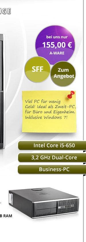 HP Compaq 8100 Elite SFF Bild2