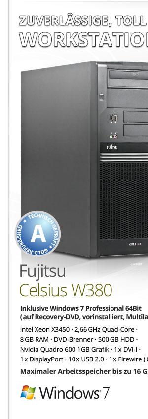 Fujitsu Celsius W380 Workstation Bild1