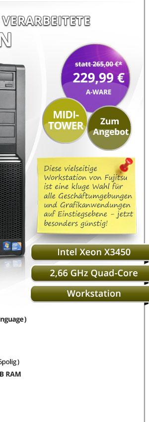 Fujitsu Celsius W380 Workstation Bild2