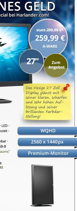 HP ZR2740W Monitor gebraucht kaufen! Bild2