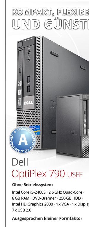Dell OptiPlex 790 USFF Mini-PC gebraucht kaufen Bild1