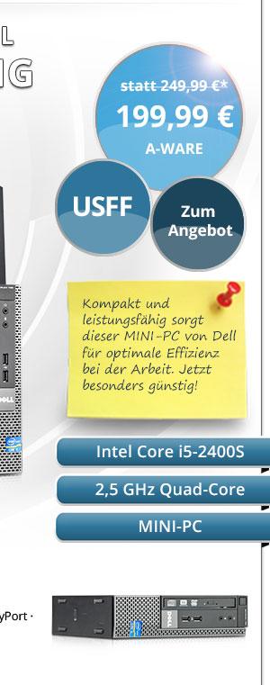 Dell OptiPlex 790 USFF Mini-PC gebraucht kaufen Bild2
