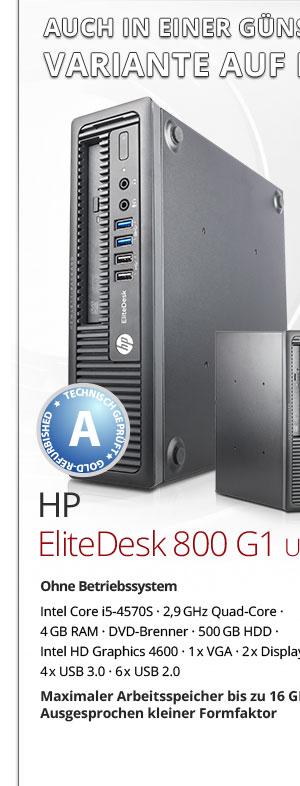 HP EliteDesk 800 G1 USDT gebraucht kaufen Bild1