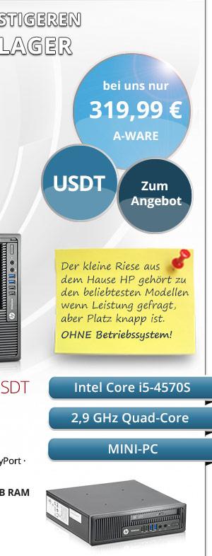HP EliteDesk 800 G1 USDT Win7 gebraucht kaufen Bild2