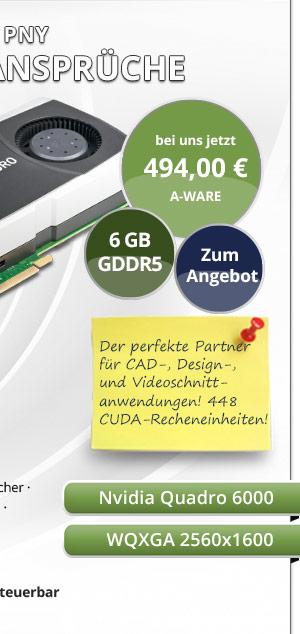 PNY Quadro 6000 CAD Grafikkarte gebraucht kaufen! Bild2