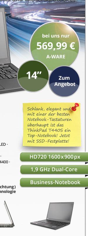Lenovo ThinkPad T440s gebraucht kaufen Bild2