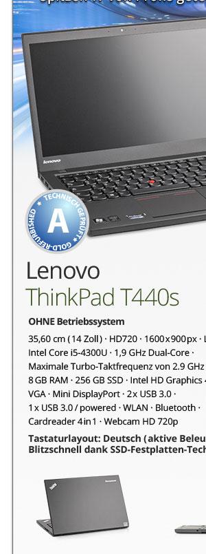 Lenovo ThinkPad T440s gebraucht kaufen Bild1