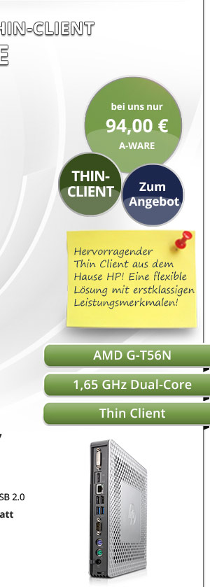 HP T610 Thin Client gebraucht kaufen! Bild2