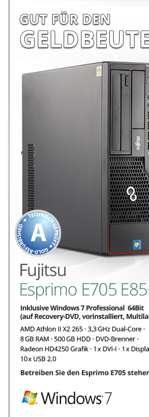 Fujitsu Esprimo E705 Bild1