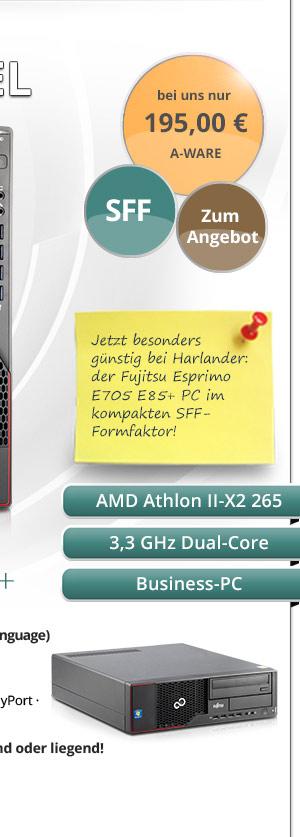 Fujitsu Esprimo E705 Bild2
